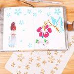 pochoir fleur TOP 13 image 2 produit