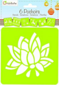 pochoir fleur TOP 3 image 0 produit