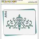Pochoir frise classique - Taille M feuille 210x270 mm de la marque decopochoirs image 1 produit