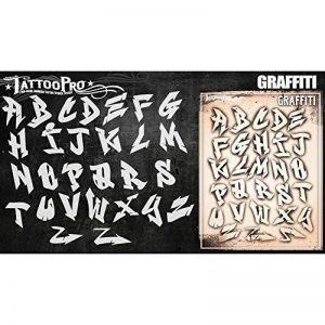 pochoir graffiti TOP 4 image 0 produit