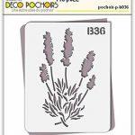 Pochoir lavande Provence - feuille 210x270 mm de la marque decopochoirs image 1 produit