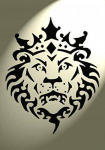 pochoir lion TOP 1 image 0 produit