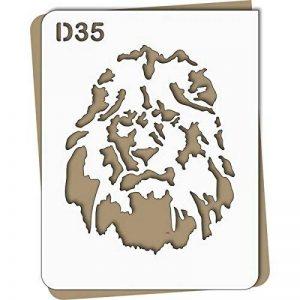 pochoir lion TOP 5 image 0 produit