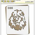 pochoir lion TOP 5 image 1 produit