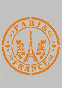 Pochoir modèle pour projets de bricolage/Paris Design de la marque Krea-Wood image 0 produit