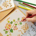 pochoir mural lettre TOP 10 image 3 produit