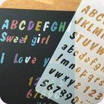 pochoir mural lettre TOP 7 image 3 produit