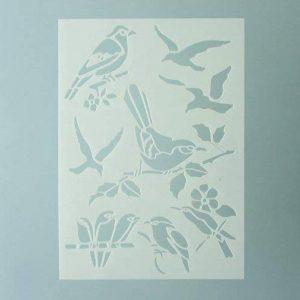 pochoir oiseau TOP 1 image 0 produit