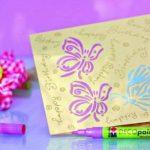 pochoir papillon TOP 2 image 2 produit