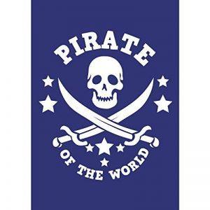 pochoir pirate TOP 1 image 0 produit