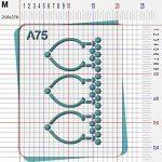 Pochoir porte orientale - Taille M feuille 210x270 mm de la marque decopochoirs image 2 produit