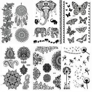 pochoir tatouage TOP 12 image 0 produit