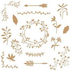 pochoir textile TOP 8 image 0 produit