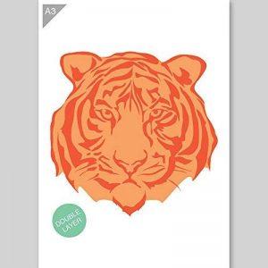 pochoir tigre TOP 4 image 0 produit