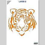 pochoir tigre TOP 4 image 2 produit