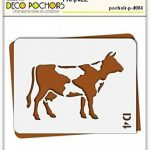 pochoir vache TOP 2 image 1 produit
