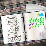 Pochoirs à Dessin, Yosemy 20 Pièces Pochoir Guide de lettres pour enfants bullet journal pour la création de cartes de Journalisation, scrapbooking, DIY et projets artistiques de la marque Yosemy image 5 produit