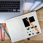 Pochoirs à Dessin, Yosemy 20 Pièces Pochoir Guide de lettres pour enfants bullet journal pour la création de cartes de Journalisation, scrapbooking, DIY et projets artistiques de la marque Yosemy image 6 produit
