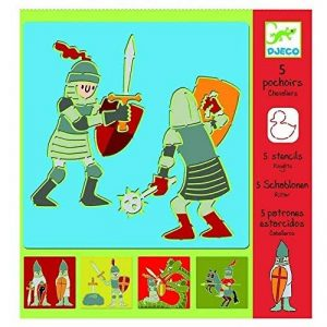Pochoirs chevaliers Djeco de la marque Djeco image 0 produit