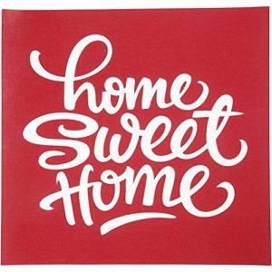 Pochoirs, feuille 20x22 cm, Home sweet home, 1feuille de la marque Creativ Company image 0 produit