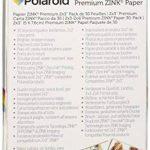 """Polaroid - Papier photo ZINK Premium 2""""x3"""" - LOT DE 30 feuilles - Compatible avec les appareils-photo Polaroid Snap, Z2300 & SocialMatic Instant, et avec l'imprimante Polaroid Zip Instant de la marque Polaroid image 1 produit"""