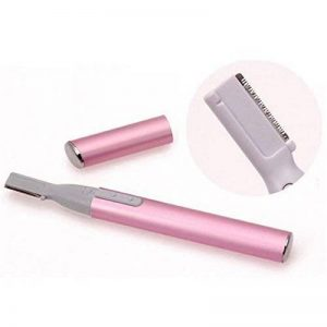 Portable Électrique Sourcils Tondeuse Corps Visage Poils Epilation Rasage Rasoir Lame pour Femme ---Rose de la marque Contever image 0 produit