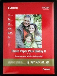 PP201 CANON PHOTO PAPER A4 de la marque Canon image 0 produit