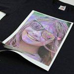 PPD A4 Inkjet (Jet d'encre) Papier transfert application avec un fer à repasser-Transferts pour T Shirt/tissu foncé x 10 Feuilles PPD-4-10 de la marque PPD image 3 produit