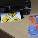 PPD A4 jet d'encre brillant vinyle auto-adhésif papier autocollant 20x Feuilles de la marque Photo-Paper-Direct image 1 produit