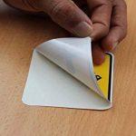 PPD A4 Jet d'encre film vinyle autocollant-brillant - 10 feuilles de la marque PPD image 4 produit