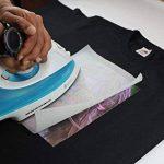 PPD A4 Jet d'encre Papier transfert application avec un fer à repasser- Transferts pour T Shirt/tissu foncé x 50 Feuilles PPD-4-50 de la marque PPD image 6 produit