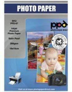PPD Jet d'encre satiné Pearl Super Premium Papier photo 10 x 15 cm 280 g/m² X 100 feuilles PPD-67-50 de la marque PPD image 0 produit