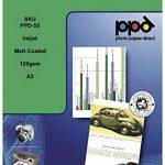 PPD Papier jet d'ancre photo mat A3, 120 g/m², 100 Feuilles de la marque Photo Paper Direct image 1 produit