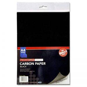Premier papeterie A4papier carbone–Noir (Lot de 10feuilles) de la marque Premier Stationery image 0 produit