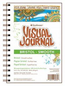 Pro-Art Bilderpalette Papier journal visuel Strathmore Bristol lisse 14cm, 28feuilles 20x 20cm de la marque Pro-Art image 0 produit