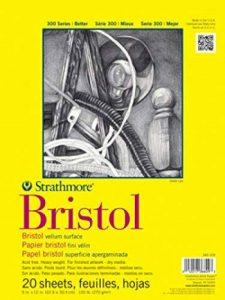 Pro-Art Bilderpalette Strathmore Bristol papier vélin Papier Pad 9x 30,5cm, 20feuilles de la marque Pro-Art image 0 produit