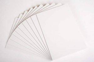 Produit Nation A2Blanc Carton mousse 5mm 20feuilles–Photo Plat Board–Mariage Signes (420x 594mm) de la marque Product Nation image 0 produit
