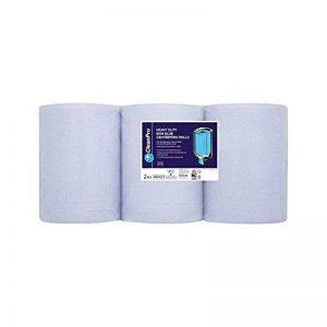 Propre Pro 6 Robuste Mini-Rouleaux À Dévidage Central Bleu 2 Plis de la marque Clean Pro image 0 produit