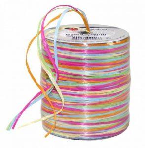 Präsent Bobine de raphia rose/jaune/multicolore, 50 m de la marque Präsent image 0 produit