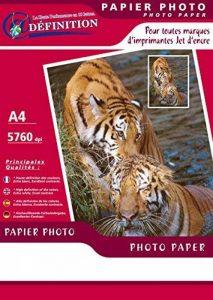 QRT Graphique 9040 Papier photo spécial jet d'encre 50 feuilles A4 200 gr/m² Couché Mat de la marque QRT Graphique image 0 produit