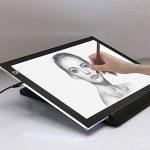 Quanjucheer A4LED Dessin Tablette carte mère, carte graphique copie Coussinets Peinture Tablette numérique Non-dimmable blanc de la marque quanjucheer image 3 produit