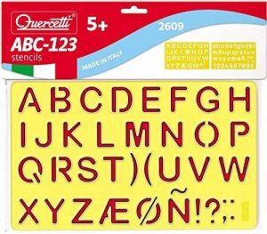 Quercetti Pochoirs ABC-123 de la marque Quercetti image 0 produit