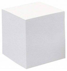 Quovadis 38599 Bloc Cube Papier Encollé 90G 90 x 90 x 90mm Papier Blanc de la marque Quo Vadis image 0 produit