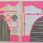 Rachel Ellen Designs, ensemble de papier à lettres et autocollants avec inscription amusante: «Pink is My Happy Colour» de la marque Rachel Ellen image 1 produit