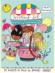 Rachel Ellen lettres pour enfants–Filles et flamants roses en ballon de la marque Rachel Ellen image 0 produit