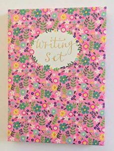 Rachel Ellen Lot de papier à lettres Rose à fleurs et stickers de la marque Rachel Ellen image 0 produit
