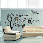 Rainbow Unicorn Grande famille arbre Sticker photo cadre arbre mur décoration murale pour la maison, décoration de pochoir chambre. Bricolage Galerie de photos Frame Decor Sticker de la marque Rainbow Unicorn image 1 produit