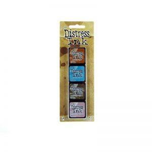 Ranger 15TDPK40361 Tim Holtz Mini Kit de 6 Encres Plastique Multicolore 10 x 2,5 x 1,3 cm de la marque Ranger image 0 produit