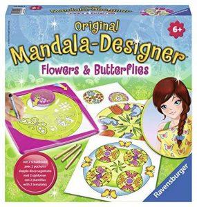 Ravensburger 29809 - Peinture Au Numéro - Flowers & Butterflies 2 En 1 Mandala de la marque Ravensburger image 0 produit