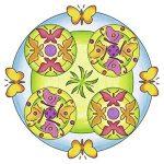 Ravensburger 29809 - Peinture Au Numéro - Flowers & Butterflies 2 En 1 Mandala de la marque Ravensburger image 3 produit